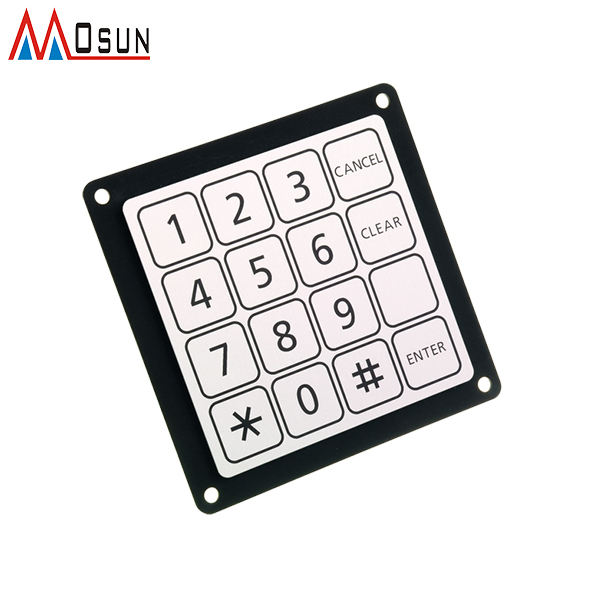 มาตรฐาน Matrix 16 Key Membrane Switch