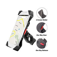Bike Phone Mount Anti Shake Cradle Clamp With 360 Degrees Rotation Bicycle Handlebar  Phone Mount Bike Phone Holder