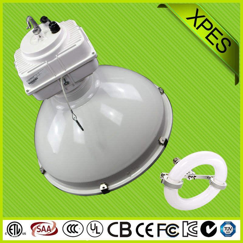 Die- en aluminium coulée lampe à induction haute bay fixtur avec du ce