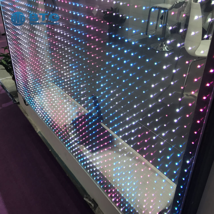laminated led display screen glass facade panel