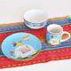 3PCS CHILDREN'S DINNER SET with DECAL