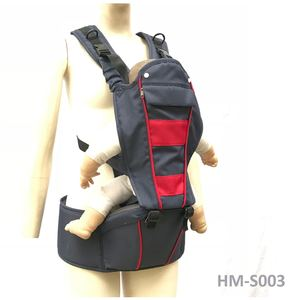 whole sale cotton fabric new multi-functions hip seat baby soft carrier in 6 ways with support hip
