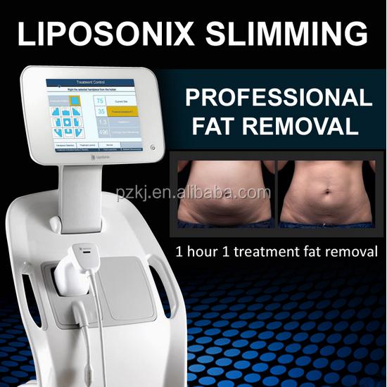 Não-cirúrgico 500000 tiros garantia 12mm facial profundidade liposonix ultrashape hifu máquina de emagrecimento corpo