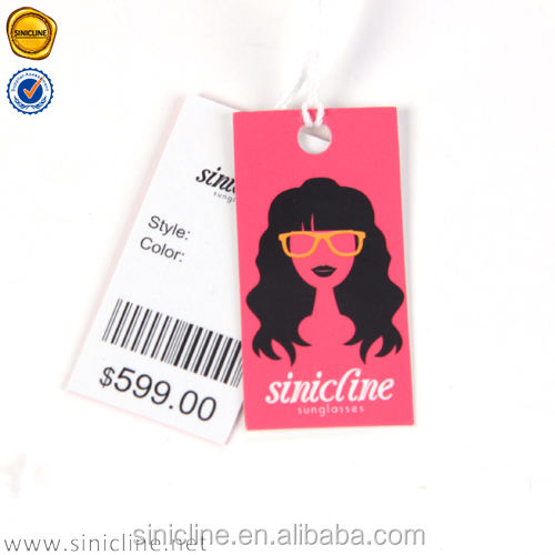 Sinicline art paper pricetag hangtag with string