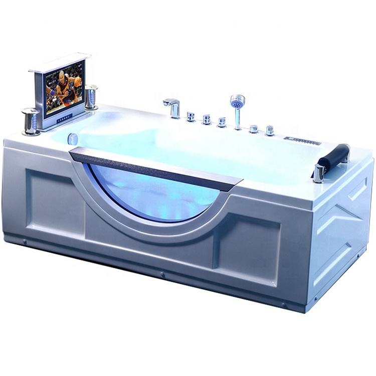 ideal standard uae rectangle free standing hydromasage equipment bathtub