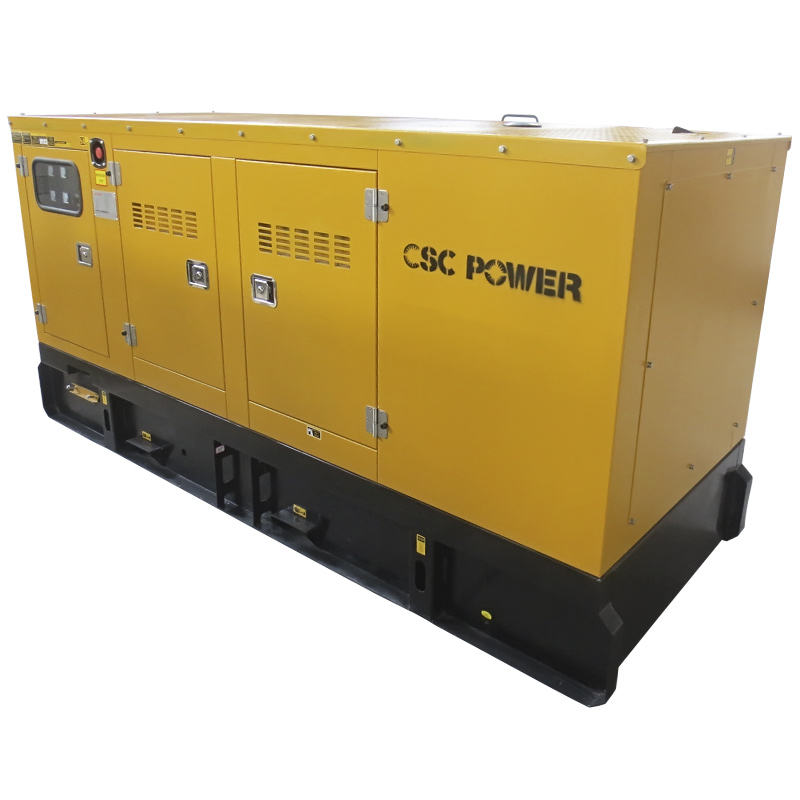 Stille Diesel Generator Set mit <span class=keywords><strong>Cummins</strong></span> Motor 6BT5. 9-G2, Prime Power 100KVA