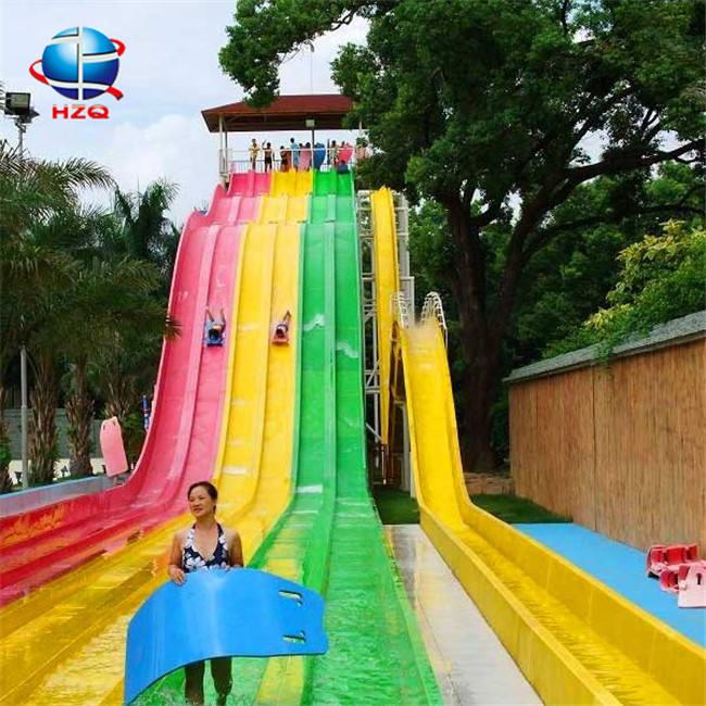 Projeto do parque de diversões mais populares corrediça de água