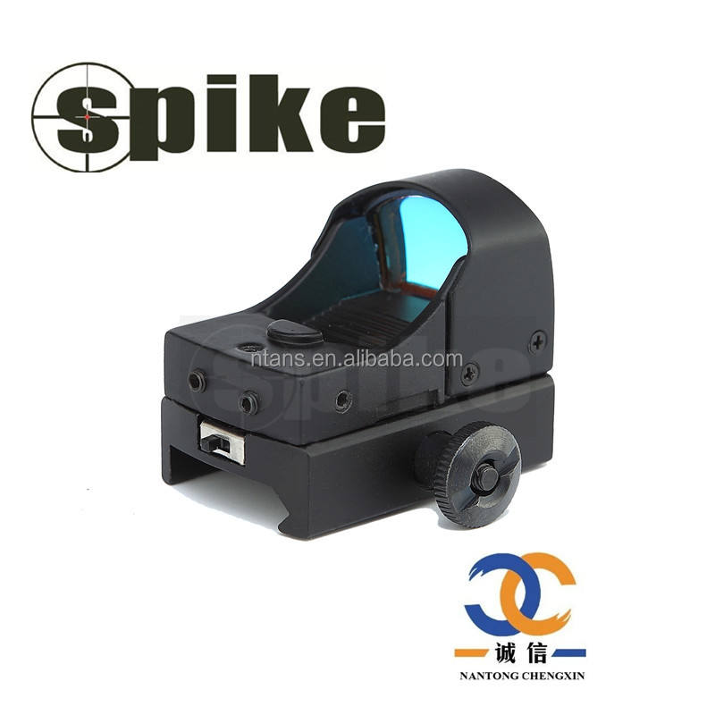 Spike HD-3 Tactische Mini/Micro Red Dot Reflex Sight Red Dot Scope met 22mm Mount voor Air Rifle Air Guns