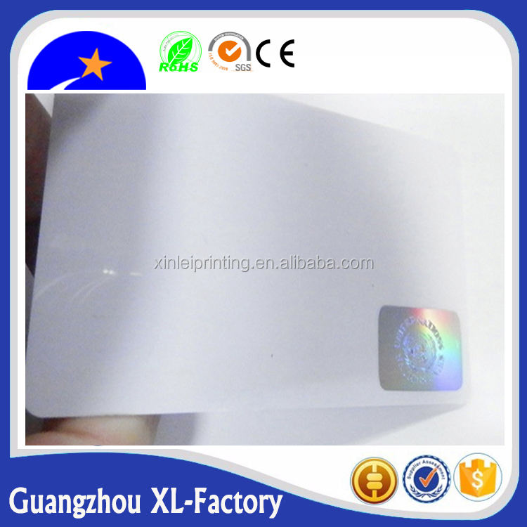 Hologram stamping elegant PVC membership card plastic visiting business card,facebook id card,id card maker