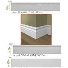 Polyurethane New high-grade building decoration PU Wall floor foam baseboard