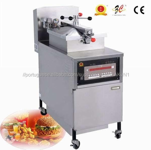 Equipamentos usados restaurante elétrica fritadeira pressão de frango broasted