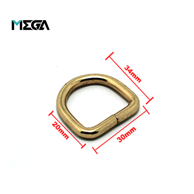 1 inch wired metal D ring