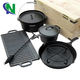 camping cooking set cookware set dutch oven set