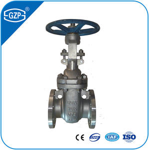 Chinese Factory 150# 300# 600# 900# 1500# Flanged Cast Steel Outside Yoke Bolted Bonnet Cover Cap Wedge Gate Valve