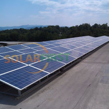 Ground Mounting System leading manufacturer 1KW flat roof solar racking system Net Metering roof solar rack