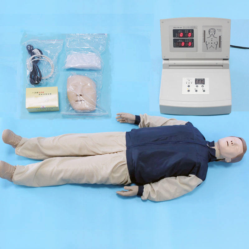 2019 Hot Sale Medis Darurat Simulator Monitor Penuh Tubuh CPR Training Manikin