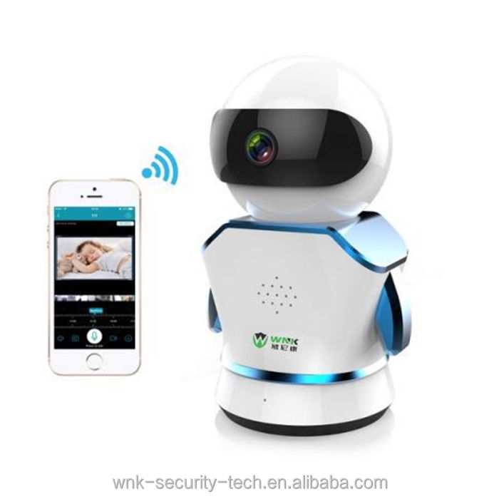 New exclusive 1080 p pan tilt rotazione 360 robot wireless ip camera cctv panorama 3D