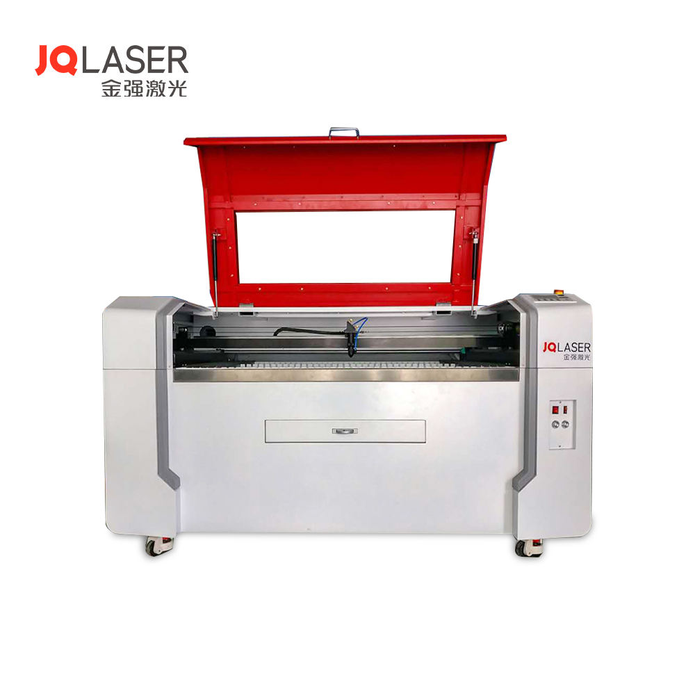 Promotion ! hot sale! CO2 acrylic wood laser cutting machine jigsaw puzzle laser cutter JQ1390 machine price