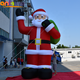6m inflatable mooning santa/holiday christmas inflatables floating santa claus for decoration