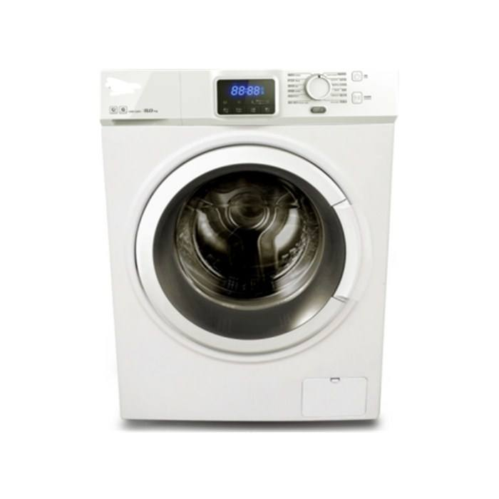 8/10kg full automatic washer LED display Front opening glass washing machine