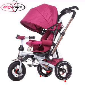 Environmentally Friendly Children Bike With Umbrella Tricycle Kids