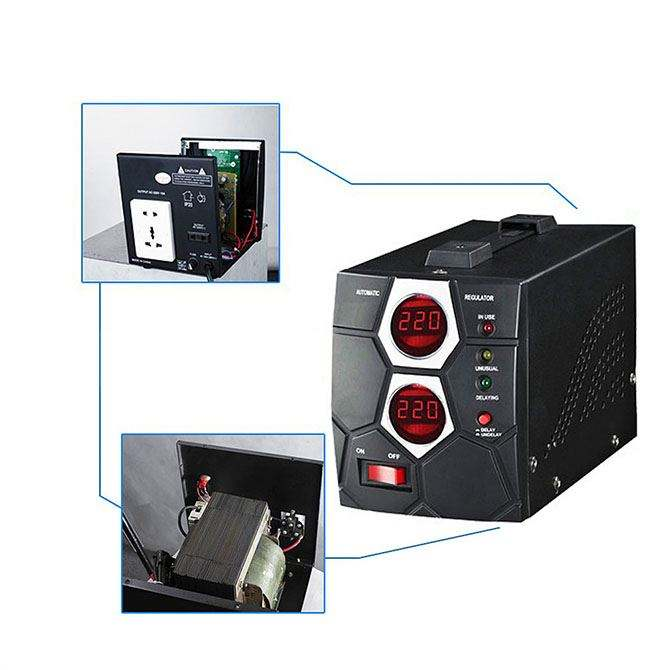 Promotional Ups Home Use SVC 800W Voltage Stabilizer