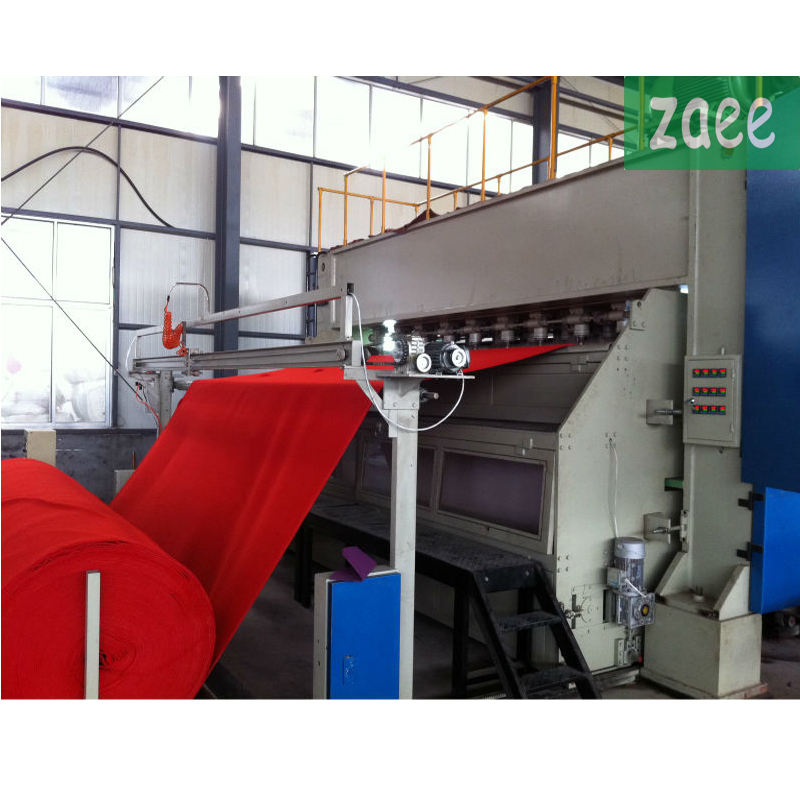 Mesin Punching Jarum Velour Karpet Nonwoven