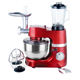 3 in 1 stand mixer and douhg mixer for Egg whisk/Mixing beater/ Dough hook/ Bowl/ Blender/grinder/scale