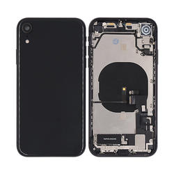 with small parts New Housing Back Door Rear Battery Cover Metal Case Replacement for iPhone XR mobile phone housings