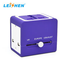 Portable fast phone charger usb power universal travel adapter for luxury gift items