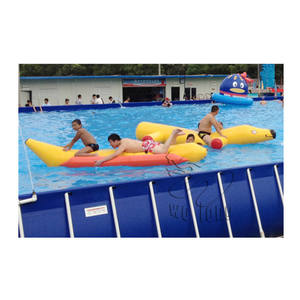 Water walking ball used inflatable swimming pool equipment from china manufacturer