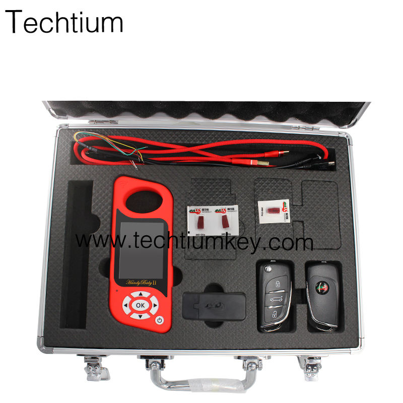 Key Programmer Remote Generate chip Auto Key Tool for 4D/46/48/G King Red Chips key programmer for JMD Handy Baby 2