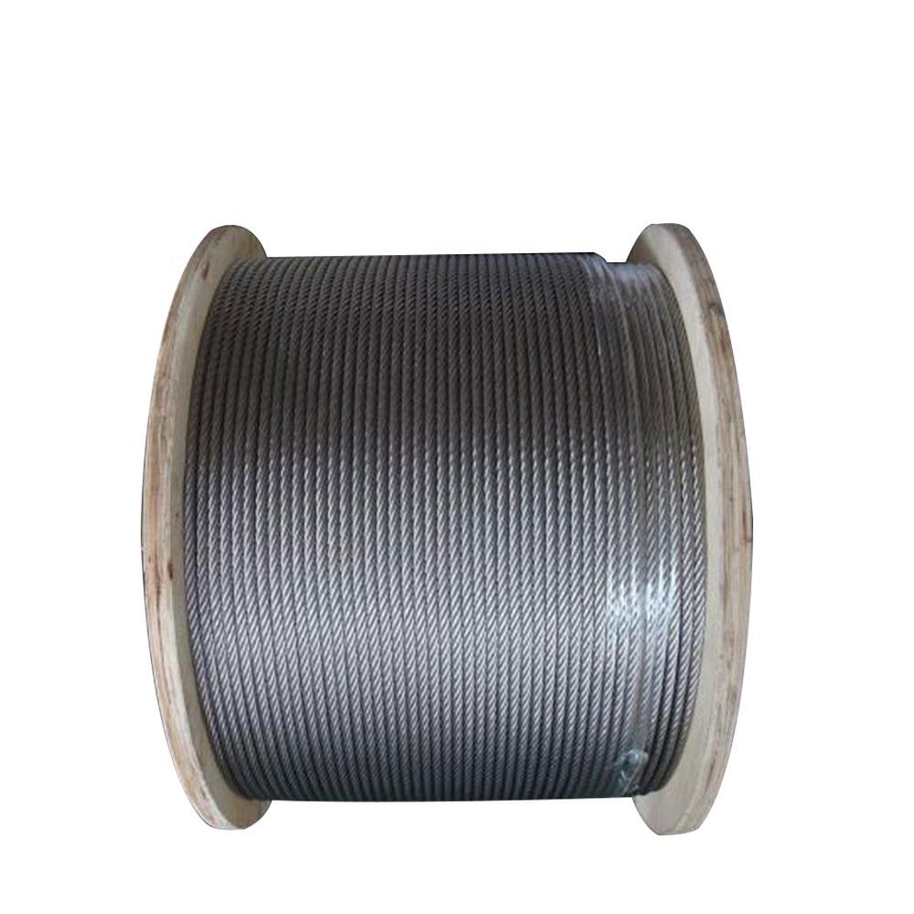 Durable Stainless Steel 12mm Wire Rope for Construction Hoist
