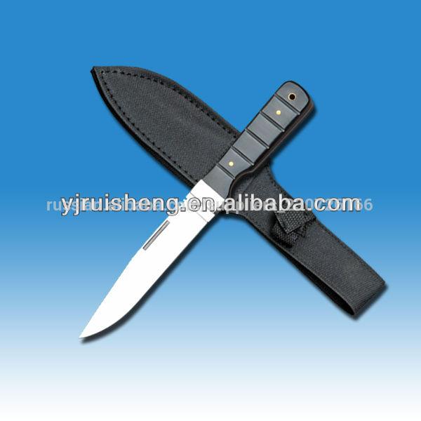 горячий продавать деревянной ручкой охота ягуара складной нож с сделано в китае