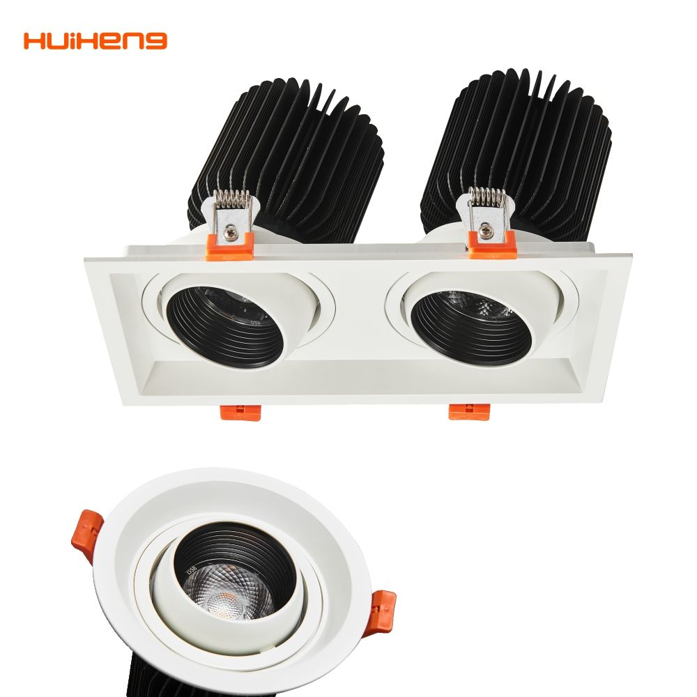 S607 Latest Wholesale Price Kit Hotel 2X26W Plc Downlight Factory in China