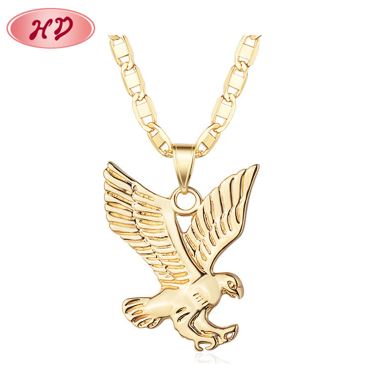 Golden Eagle 펜 던 트 패션 Owl Women Men Hiphop Necklace Jewelry 펜 던 트