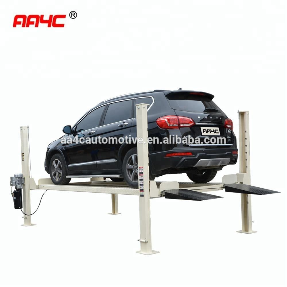 AA4C mobile 4 post car parking lift AA-4P35MP