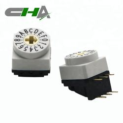 High quality IP67 3x3 right angle type 16 position rotary switch