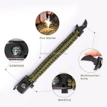 KongBo  New Style Paracord Survival Bracelet