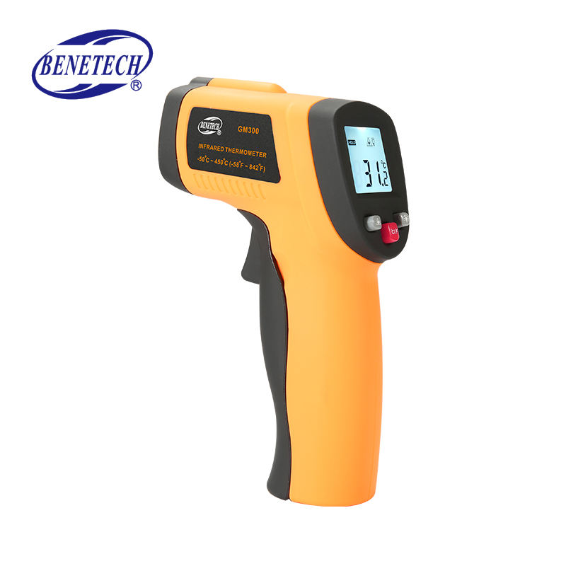 Superior quality temperature humidity meter infrared thermometer 2000 degree rechargeable non contact digital environment