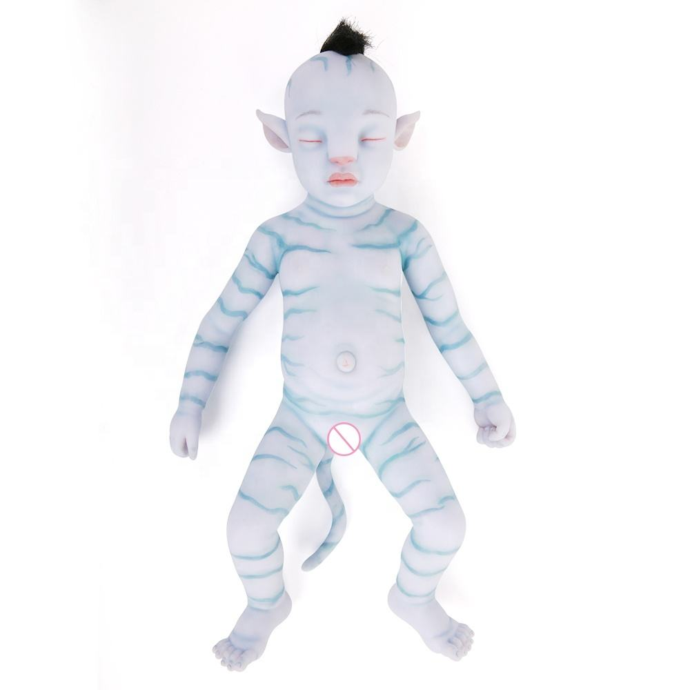 20 Inch Realistic Avatar Baby Doll Soft Silicone