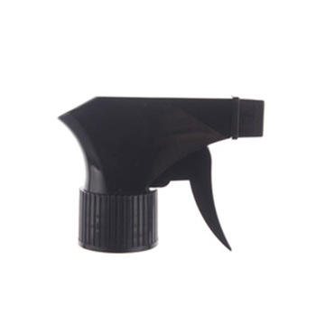 Customized 28 410 Non spill bottle sprayer pump portable plastic all black trigger sprayer for home&garden