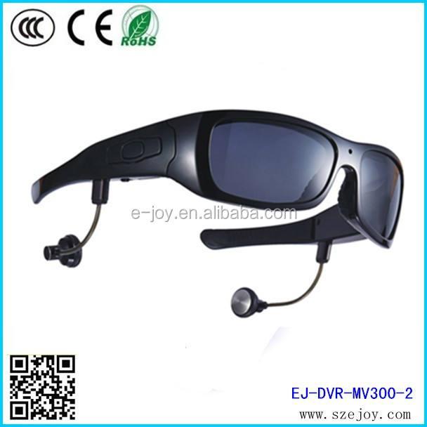 Hd <span class=keywords><strong>1280x720p</strong></span>@30fps 5.0 Mega piksel CMOS polarize lens bluetooth güneş gözlüğü kamera