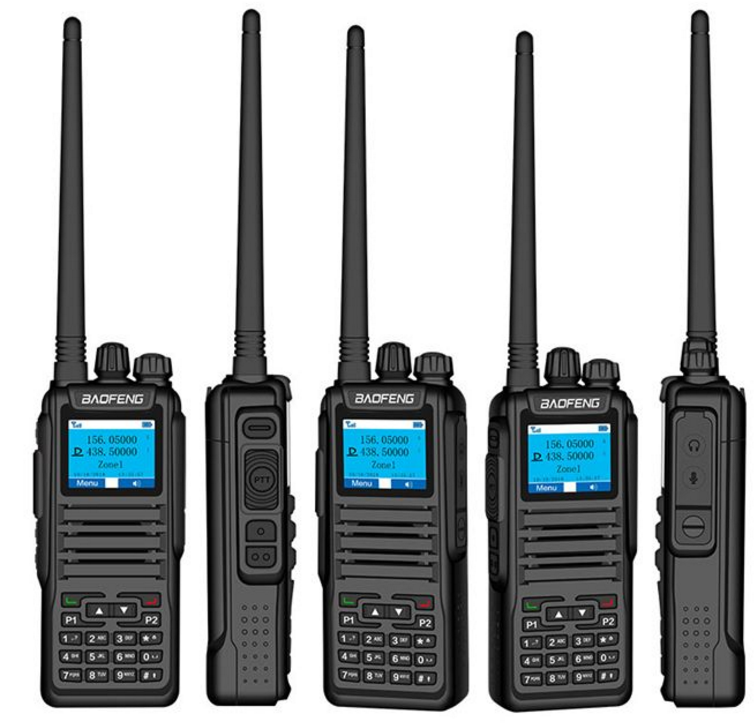 100% Asli Baofeng Dual Band DMR Radio Tier 2 DMR Walkie Talkie DM1701 Radio Digital