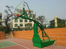 High qualitity NBA Size movable basketball stand