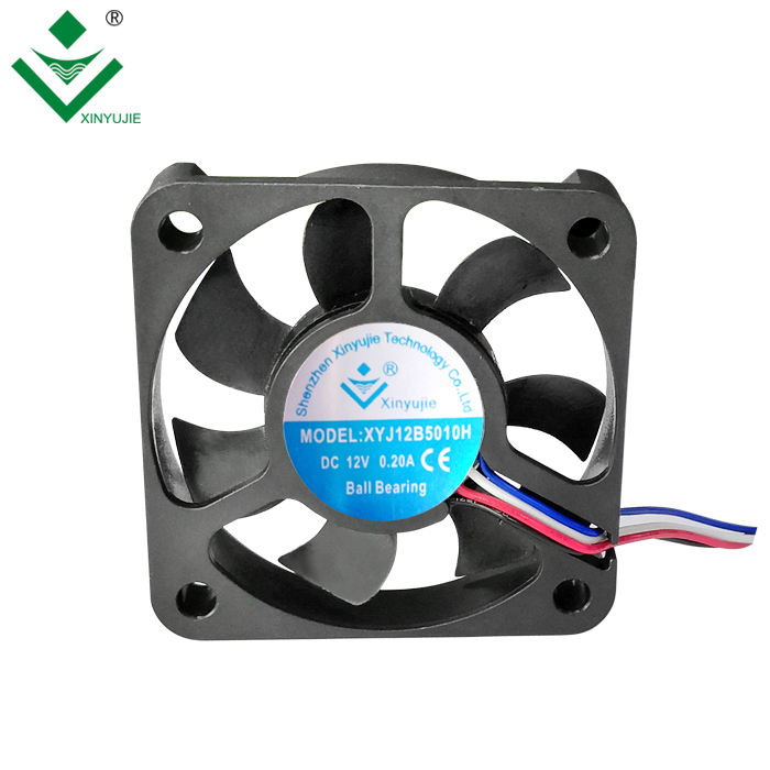 5010 Low Noise 50mm Cooling <span class=keywords><strong>Fan</strong></span> 5V 12V Brushless DC <span class=keywords><strong>Fan</strong></span> 50x50x10 24V 3Wire Speed Detection
