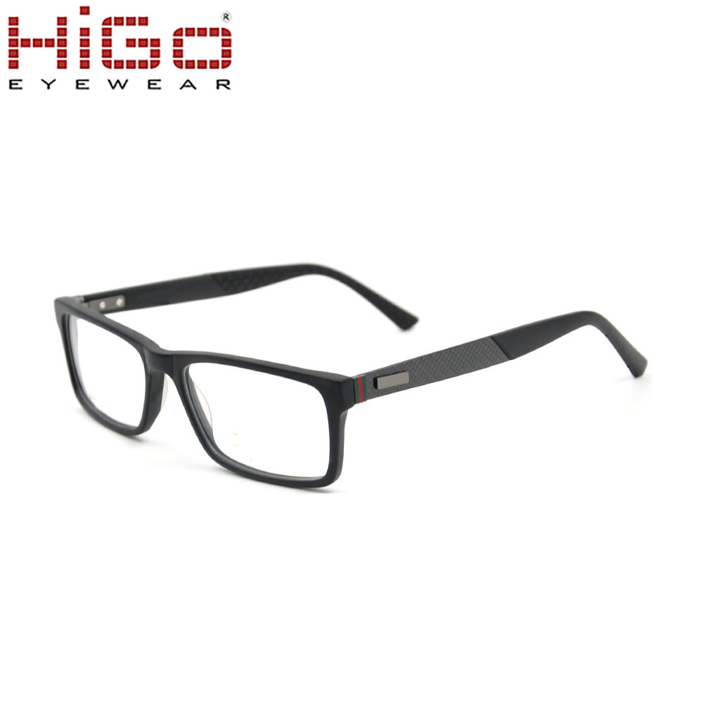 Private Label Acetate Front Frames With Carbon Fiber Temple Optical Eyewear Eyeglasses