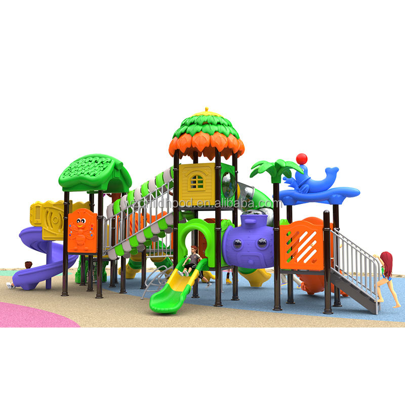 Outdoor playground accessories children plastic playground,standard plastic playground