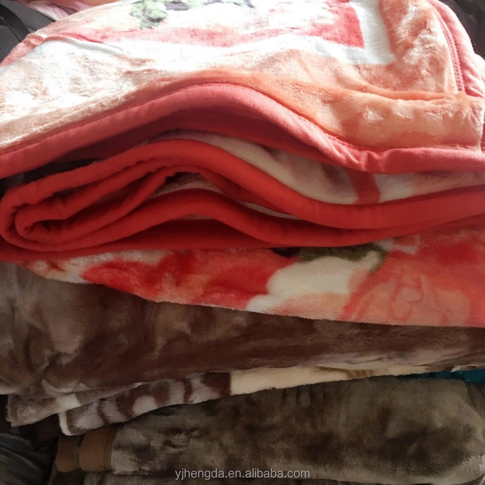 Wholesale used clothing wholesale blanket new blankets