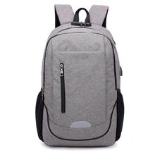 CHINA SUPPLIER ANTI-THIEF BACKPACK WITH USB PORT NEW STYLE TREND PRODUCT